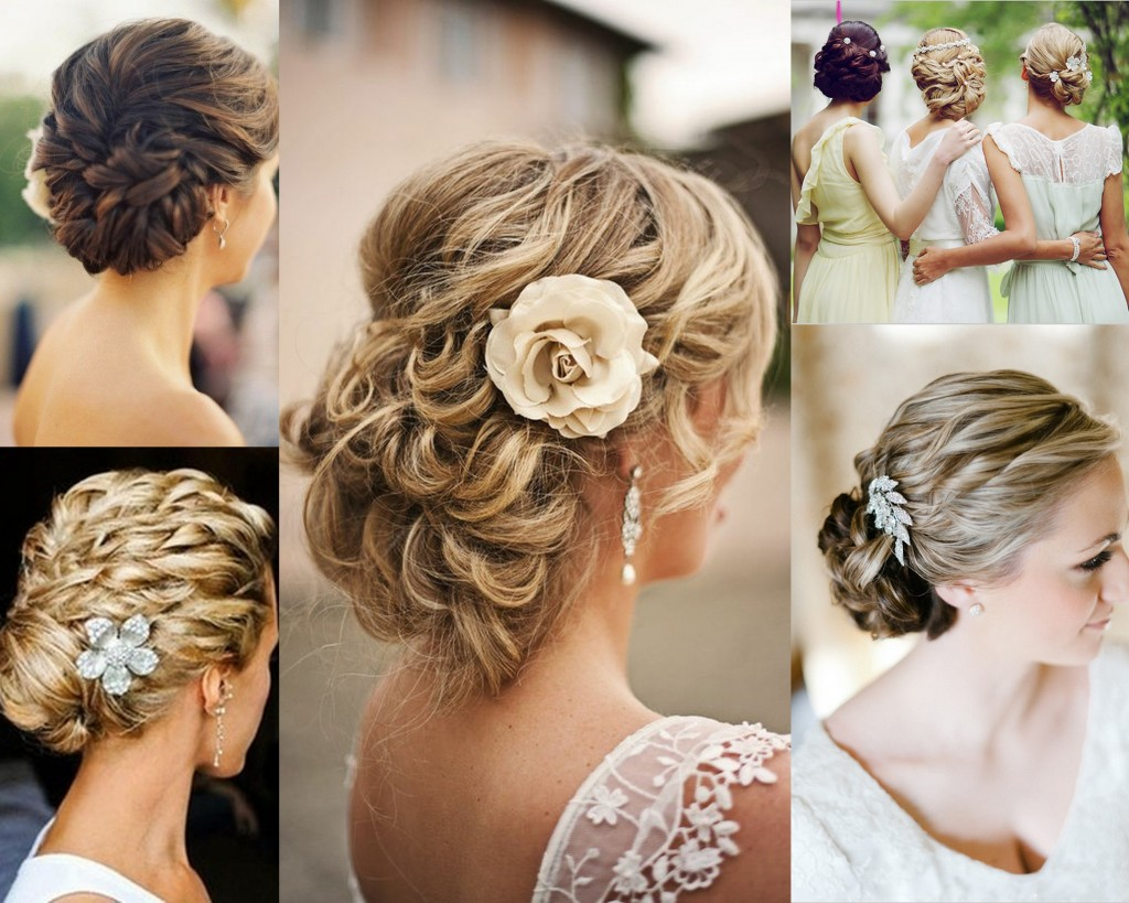 Wedding-hairstyle-collage