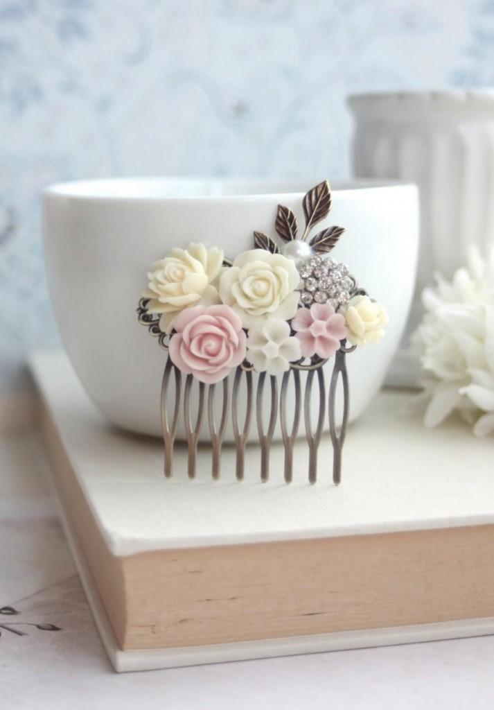 ivory-rose-blush-pink-rose-pearl-crystal-rhinestone-leaf-collage-flower-hair-comb-bridesmaid-gift-pink-wedding-bridal-summer-wedding