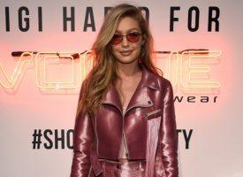 Gigi Hadid Celebrates Her Vogue Eyewear Collection Launch