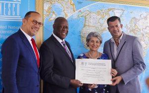 UNESCO ENTREGA A REPÚBLICA DOMINICANA REGISTRO DEL MERENGUE COMO PATRIMONIO CULTURAL DE LA HUMANIDAD