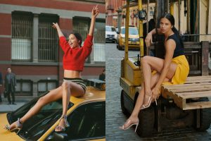 ADRIANA LIMA FRONTS SCHUTZ'S NEW SUMMER CAMPAIGN