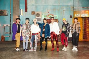 Leslie grace de gira junto a K-pop Super Junior